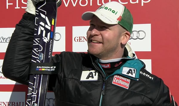 Feuz und Kröll gewinnen zeitgleich ersten Super-G bei Weltcup in Kvitfjell (NOR)