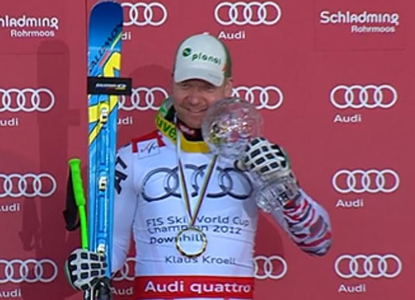 Abfahrtsweltcupsieger 2011/12 Klaus Kröll