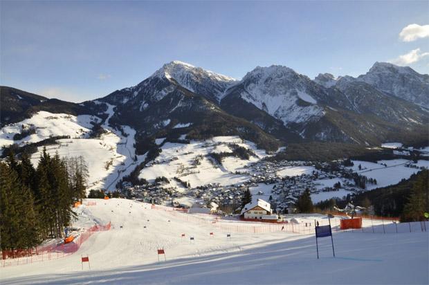 """© skiworldcup-kronplatz.com / Die Rennpiste """"ERTA"""""""