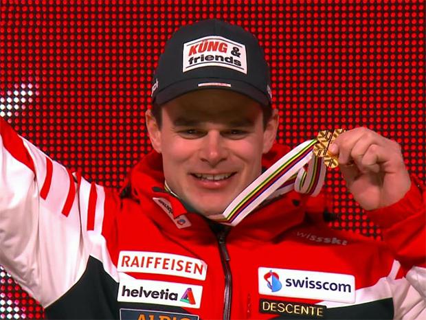 Weltmeister in der Abfahrt 2015: Patrick Küng (SUI)