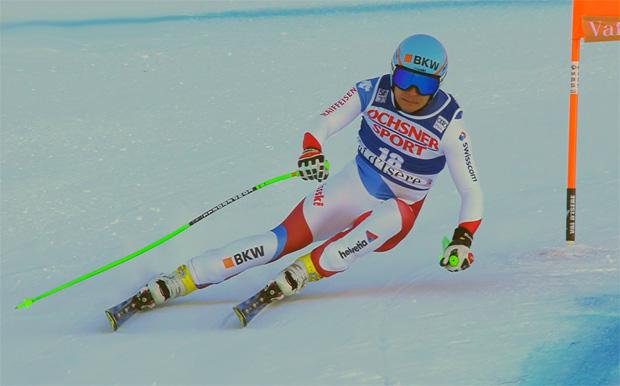 Patrick Küng bester Schweizer bei Abfahrt von Val d'Isère