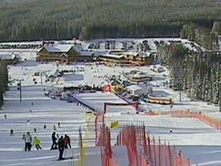 Lake Louise freut sich auf den Ski Weltcup