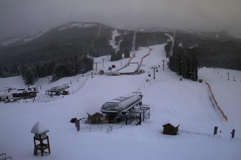 Lake Louise - Freitag - 16.30 Uhr (08.30 Uhr) Ortszeit