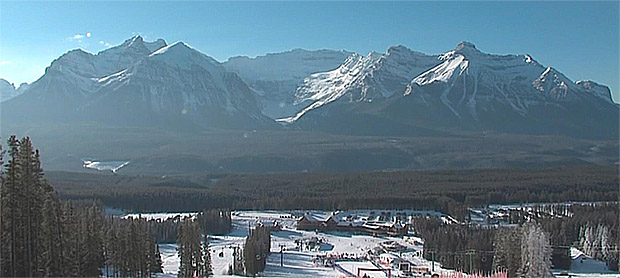 Lake Louise freut sich auf die Skiweltcup-Rennen