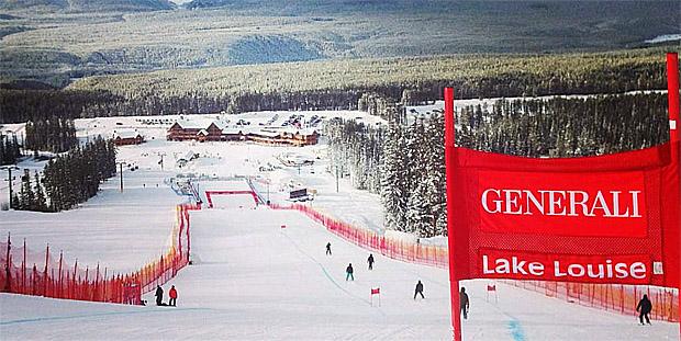 © facebook / FIS Alpine World Cup Tour - Lake Louise 2014