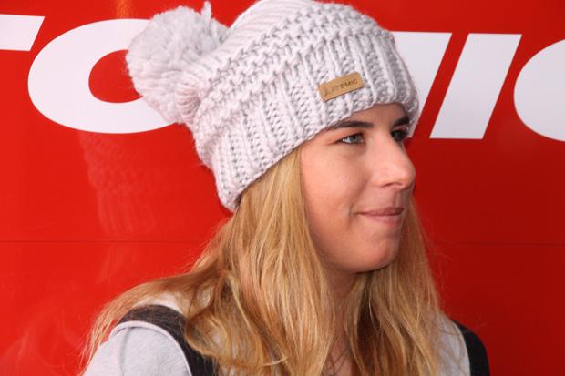 Bestzeit für Ester Ledecká beim Abschlusstraining von Lake Louise (Foto: Skiweltcup.TV / Walter Schmid)