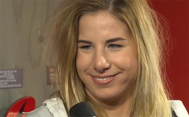 Doppel-Olympiasiegerin Ester Ledecká trainiert in Obereggen