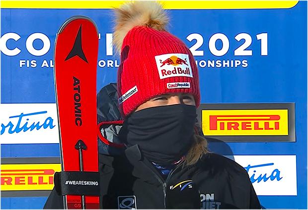 Ester Ledecká sagt Snowboard-WM-Teilnahme ab und hofft bis zum Skiweltcupfinale fit zu sein