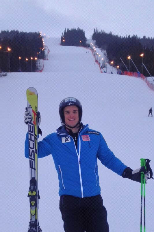 Roland Leitinger in Trysil (NOR)