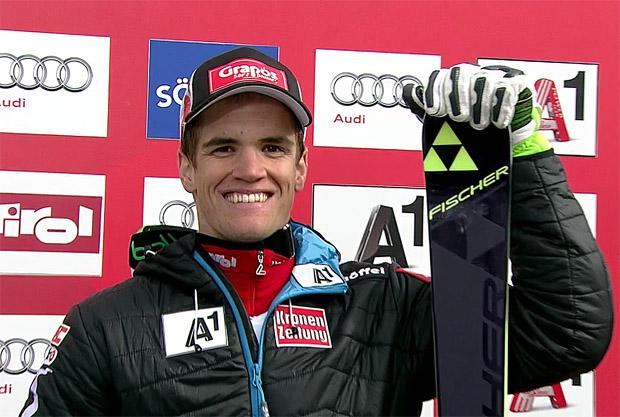 Roland Leitinger überzeugt mit Platz 6 in Sölden