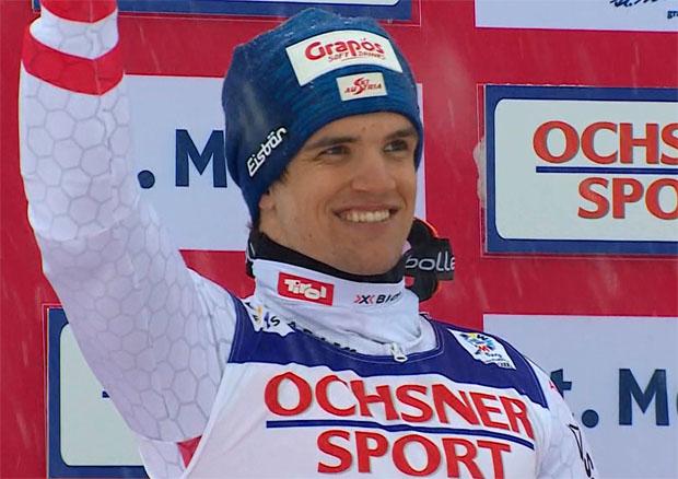 Riesenslalom Vize-Weltmeister Roland Leitinger