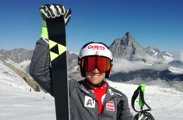 Roland Leitinger ist 205 Tage nach Kreuzbandriss wieder auf Skier unterwegs (Foto: ÖSV)