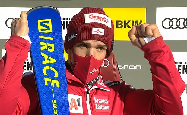 ÖSV News: Roland Leitinger verpasst beim Riesenslalom in Adelboden knapp die Top Ten