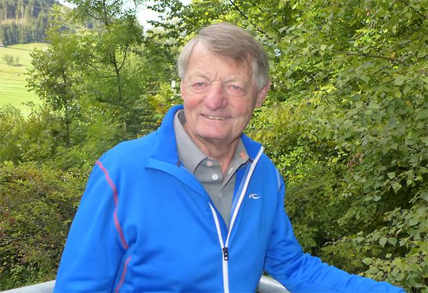 © hahnenkamm.com /  Hias Leitner feiert 80. Geburtstag