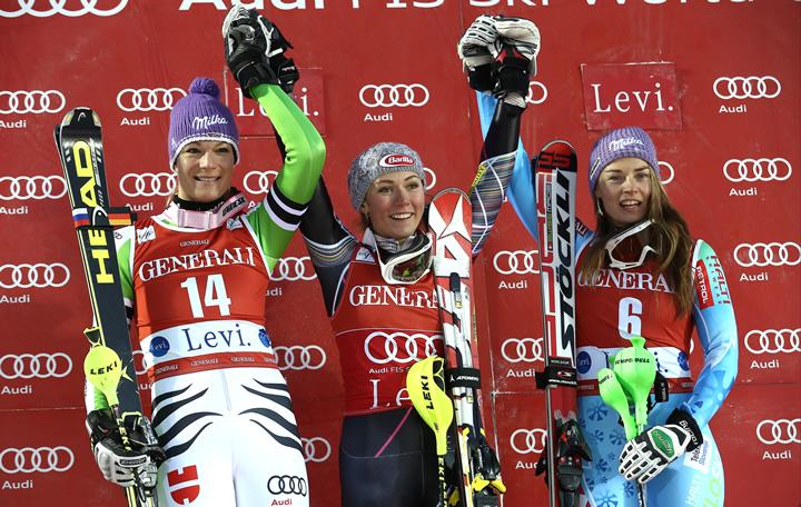 © Kraft Foods / Mikaela Shiffrin gewinnt Slalom in Levi
