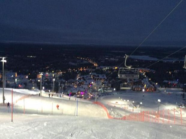 © Susanne Riesch /  Auf geht's! #fisalpine #skiweltcup #levi #bib44