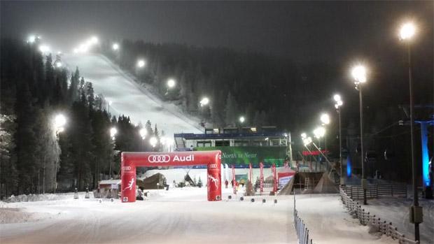 ©Ski Sport Finland Twitter / So hätte man sich auch in diesem Jahr den Saisonauftakt in Levi gewünscht - Schneemangel sorgte jedoch für eine Absage