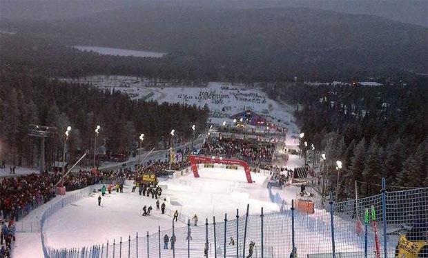 Slalom Weltcup Auftakt: In Levi ist es bitterkalt geworden.