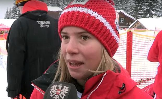 ÖSV NEWS: Katharina Liensberger, auf Medaillenkurs eingefädelt