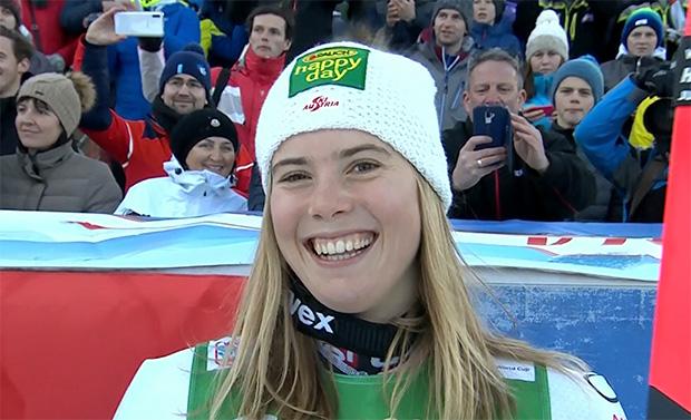 Katharina Liensberger ist reif für den Sprung auf das Slalom-Podest
