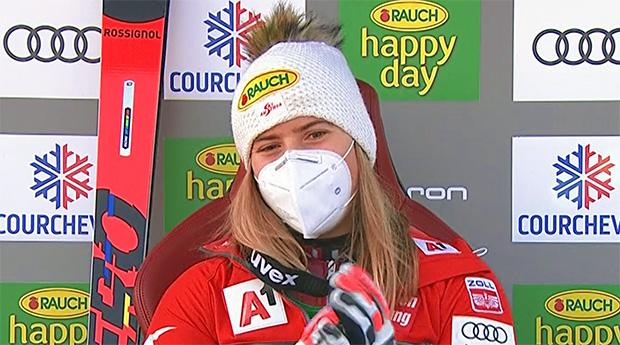 Katharina Liensberger wird als Fünfte beste Österreicherin