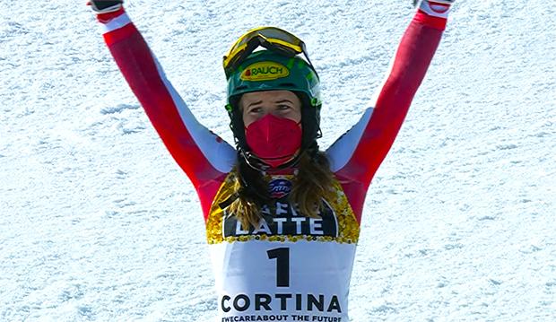 Ski WM 2021: Katharina Liensberger ist Slalom-Weltmeisterin 2021