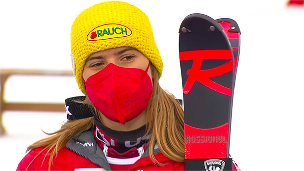 Katharina Liensberger hat es geschafft! Die Vorarlbergerin konnte in Are (SWE) ihren ersten Weltcupsieg im Slalom feiern.