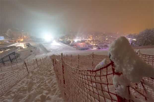 Auf so viel Schnee hoffen die Weltcup-Veranstalter auch beim 20-jährigen Weltcup-Jubiläum am 28. und 29. Dezember 2015 (Fotos/Copyright: Expa Pictures)