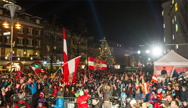 © Expa Pictures / Jubelstimmung in Lienz 2013