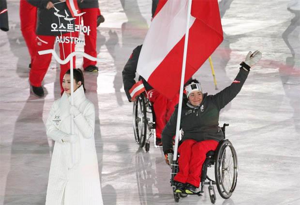 Die XII. Winter-Paralympics in PyeongChang sind offiziell eröffnet. (Foto: © ÖPC/Diener)
