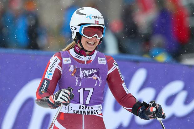 © Kraft Foods / Nina Løseth hat Appetit auf mehr und freut sich auf St. Moritz
