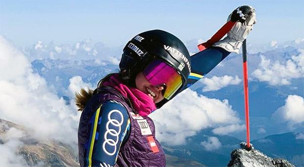 Hilma Lövblom hat beim 2. EC-Riesentorlauf von Berchtesgaden die Nase vorn (Foto: Hilma Lövblom / Instagram)