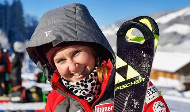 Bernadette Lorenz freut sich auf die Rennen in Levi. (Foto: © Bernadette Lorenz / Facebook)