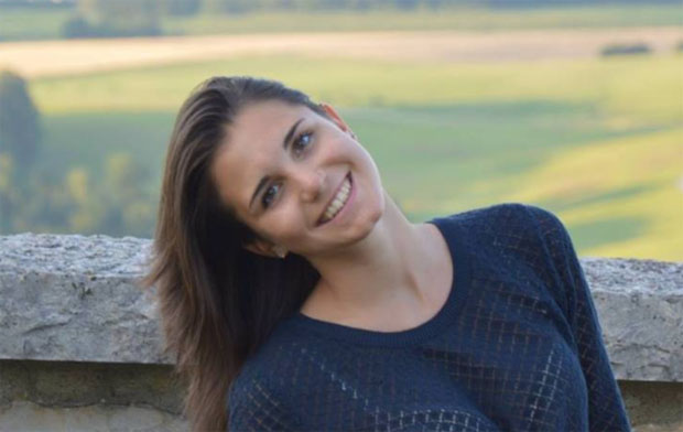Kurze Pause für Lucrezia Lorenzi (Foto: Lucrezia Lorenzi / privat)