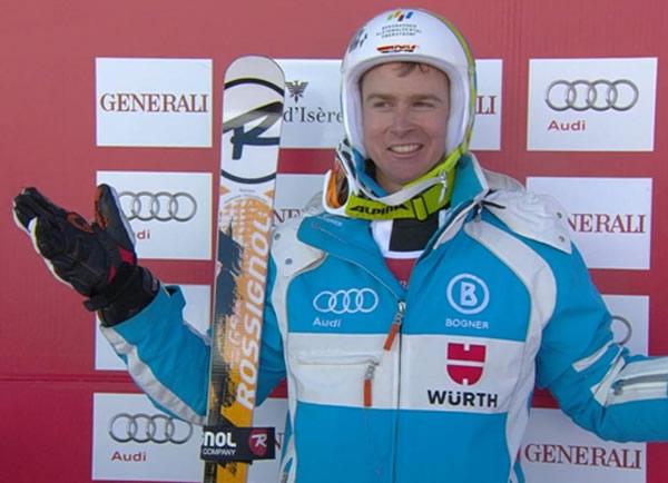 Stefan Luitz sensationell Zweiter in Val d´Isère