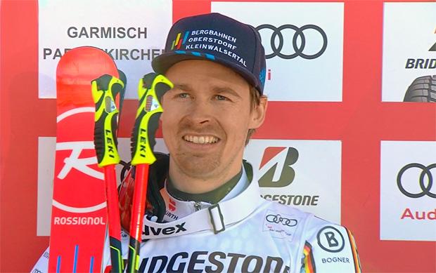 Luitz und Neureuther landen bei Riesenslalom in Garmisch auf Plätzen 3 und 6