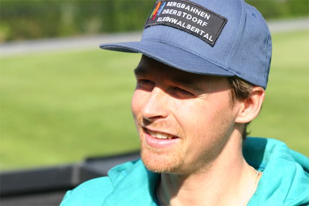 Stefan Luitz beim DSV Medientag in Uderns im Zillertal (Foto: Walter Schmid / Skiweltcup.TV)