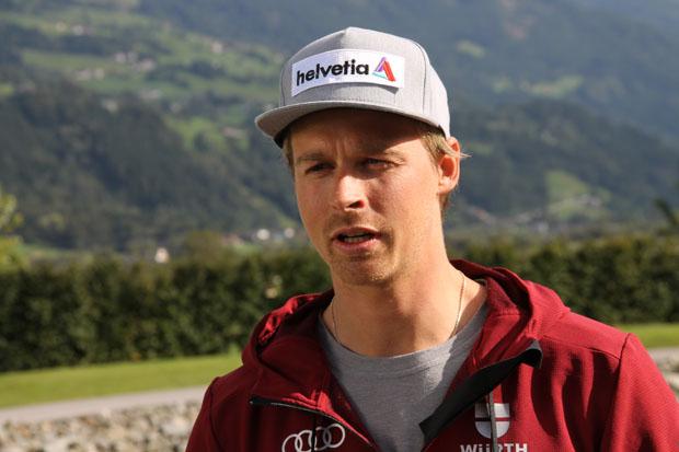"""Stefan Luitz im Skiweltcup.TV-Interview: """"Ich werde wieder alles auf eine Karte setzten!"""" (Foto: Walter Schmid / Skiweltcup.TV)"""