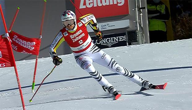 Stefan Luitz mit Bestzeit bei der Qualifikation zum Parallel-Rennen in Lech Zürs