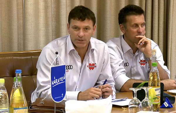 DSV Sportdirektor Wolfgang Maier