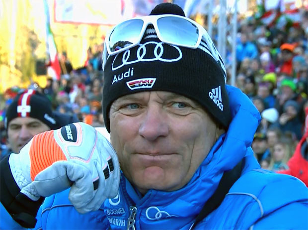 DSV-Alpindirektor Wolfgang Maier lobt Olympiastrecke in Südkorea