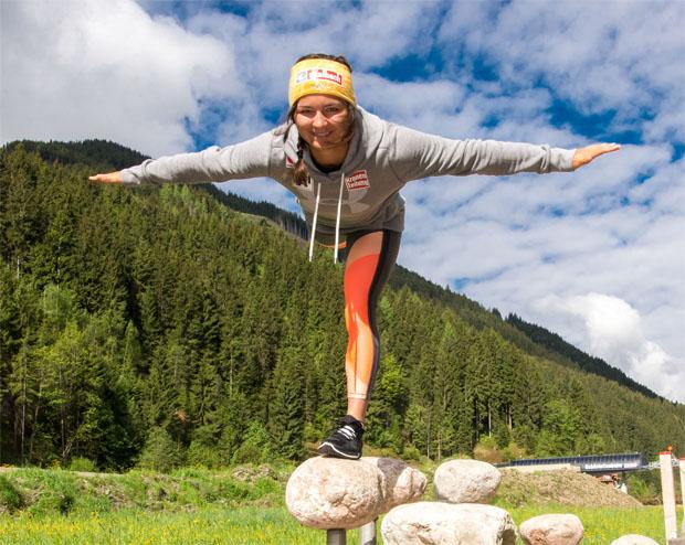 """Sabrina Maier im Skiweltcup.TV-Interview: """"Ich will vom Niveau her eine Stufe nach oben klettern!"""" (Foto: Sabrina Maier / privat)"""