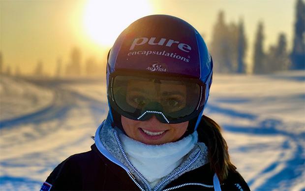 """Chiara Mair im Skiweltcup.TV-Interview: """"Ich freue mich riesig auf die neue Saison."""" (Foto: © ÖSV)"""