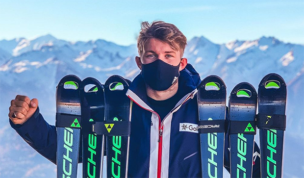Billy Major gewinnt 2. Europacup-Slalom in Val Cenis (Foto: Billy Major / Instagram)