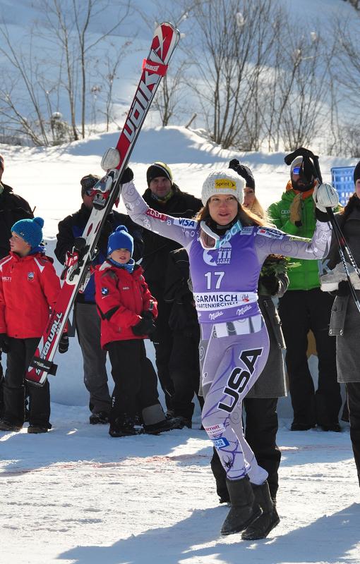 © Christian Einecke (CEPIX) / Julia Mancuso feiert sechsten Weltcupsieg