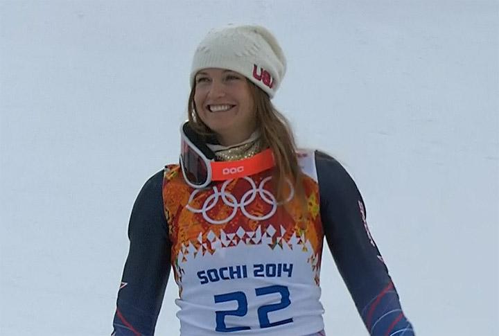 Bronzemedaille: Julia Mancuso (USA)
