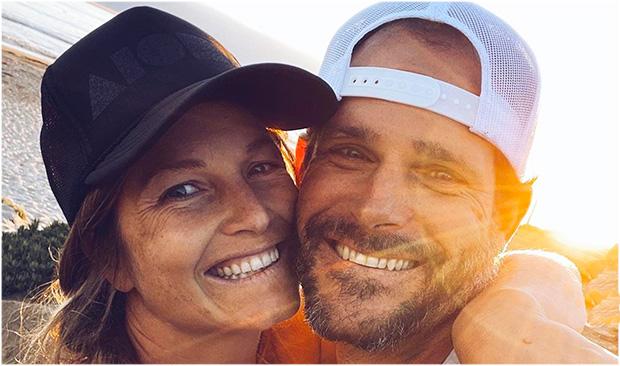 Julia Mancuso und Ehemann Dylan haben Grund zur Freude (Foto: © Julia Mancuso / Instagram)