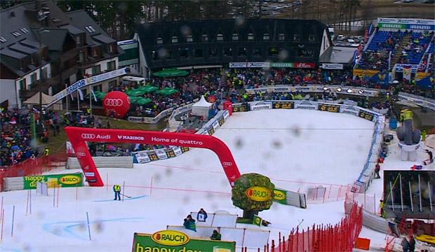 .... Slalom in Maribor abgebrochen