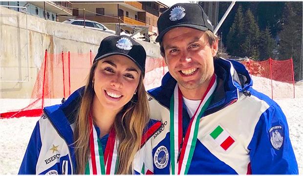 Matteo Marsaglia wird beim Gletschertraining in Saas Fee auf seine Schwester Francesca treffen (Foto: © Francesca Marsaglia)