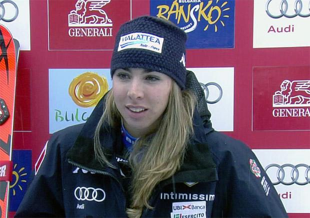 Francesca Marsaglia trotz Top-10-Ergebnis nicht ganz zufrieden